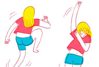 DANCING BACKPAIN
